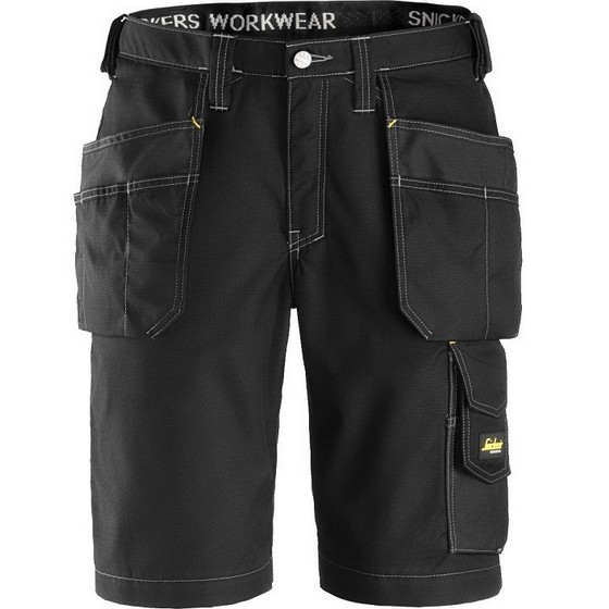 Image of SNICKERS 3023 RIPSTOP SHORTS BLACK 32L 36W