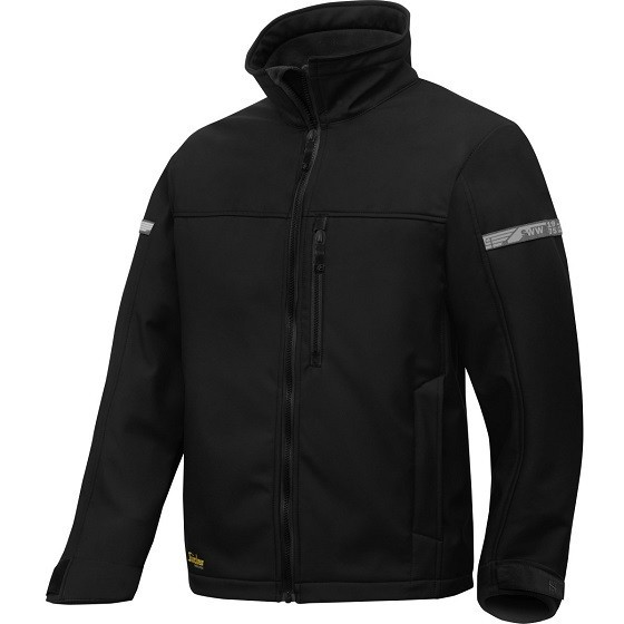 Image of SNICKERS 1200 ALLROUND SOFTSHELL JACKET BLACK XL