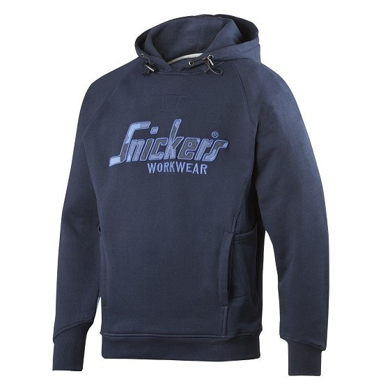 Image of SNICKERS 2824 CAMO HOODIE BLUE XL