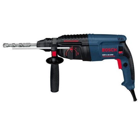 bosch gbh2 26dre sds plus rotary hammer 800w 240v. Black Bedroom Furniture Sets. Home Design Ideas