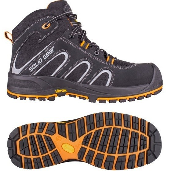 Image of SNICKERS SG73002 FALCON SAFETY BOOTS SIZE 8