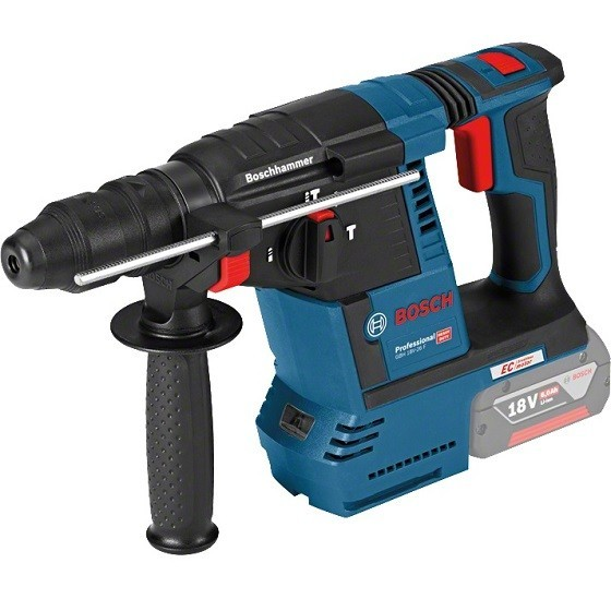 Image of BOSCH GBH18V26F 18V BRUSHLESS SDS HAMMER DRILL SUPPLIED IN CARTON BODY ONLY