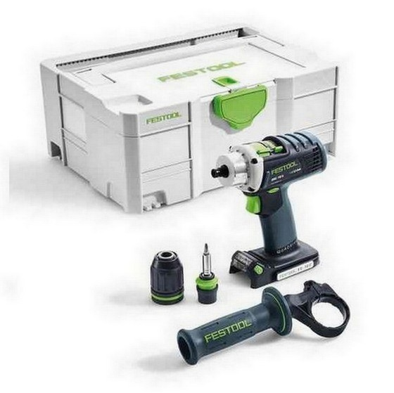 Image of FESTOOL 574695 DRC184LIBASIC PERCUSSION DRILL BODY ONLY
