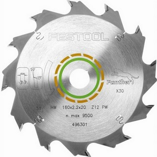 FESTOOL 496301 PW12 CIRCULAR SAW BLADE 12T X 20 X 160 MM