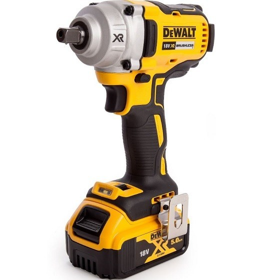 Image of Dewalt Dcf894p2 18v Compact High Torque Impact Wrench With 2x 50ah Liion Batteries
