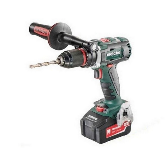 Image of METABO BS18LTXBL1 18V BRUSHLESS DRILL DRIVER WITH 2X 40AH LIION BATTERIES