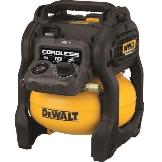 Image of Dewalt Dcc1054nxj 54v Flexvolt Xr 10 Litre Air Compressor Body Only