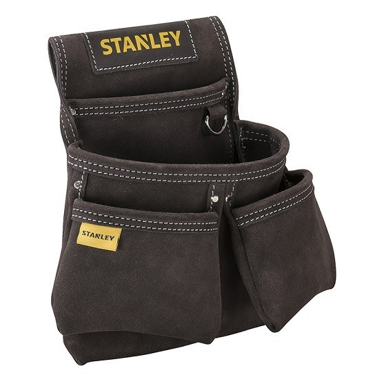 Image of Stanley Sta180116 Leather Double Nail Pocket Pouch