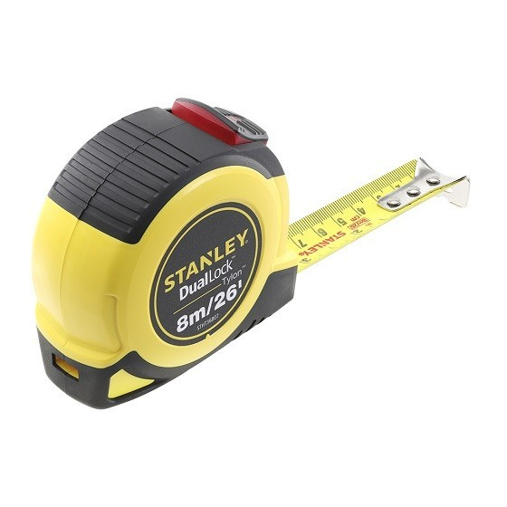 Image of Stanley Sta036807 Tylon Dual Locking Tape Measure 8 Metre