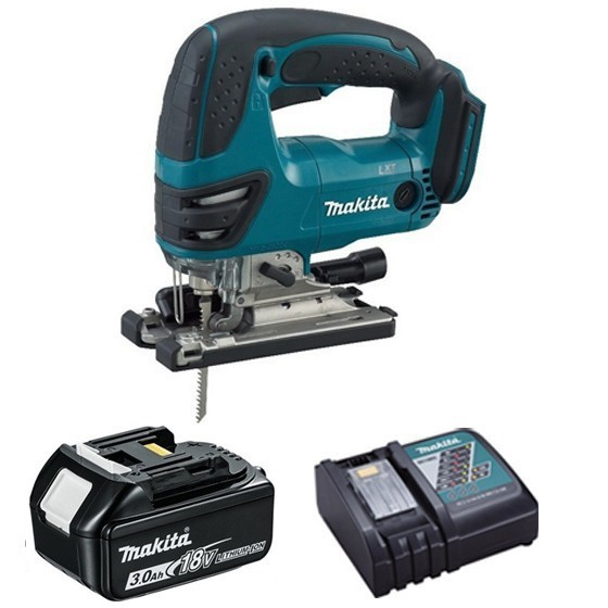 Image of MAKITA DJV180R1 18V JIGSAW WITH 1X 30AH LIION BATTERY & CHARGER SUPPLIED IN CARTON