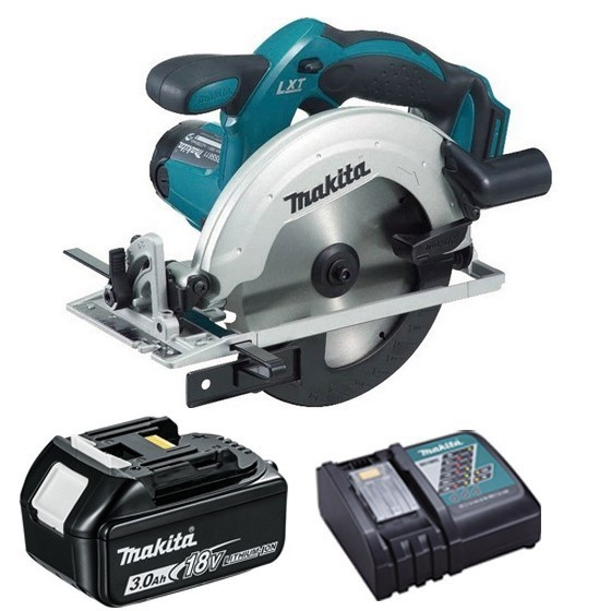 Image of Makita Dss611r1 18v Circular Saw With 1x 30ah Liion Battery & Charger Supplied In Carton