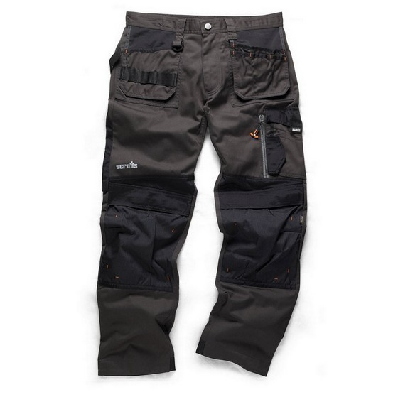 Image of SCRUFFS 3D TRADE TROUSERS GRAPHITE 40W 31L