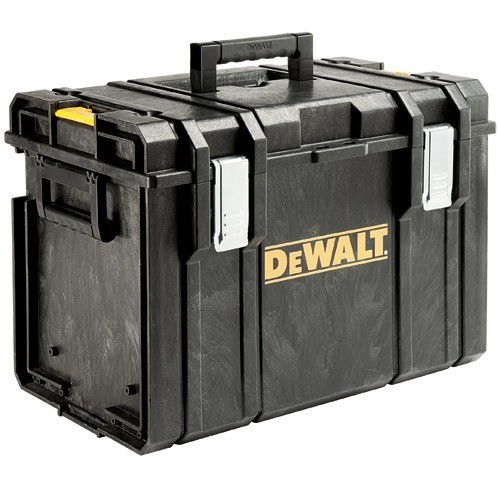 Image of DEWALT DS400 TOUGHSYSTEM STORAGE CASE EMPTY NO TOTE TRAY