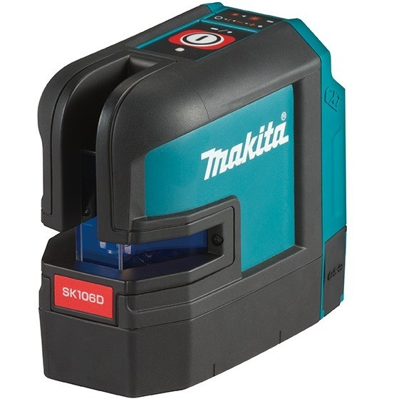 Image of MAKITA SK106DZ 12V MAX CXT RED 4 POINT CROSS LINE LASER BODY ONLY