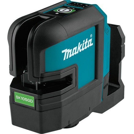 Image of MAKITA SK105GDZ 12V MAX CXT GREEN CROSS LINE LASER BODY ONLY