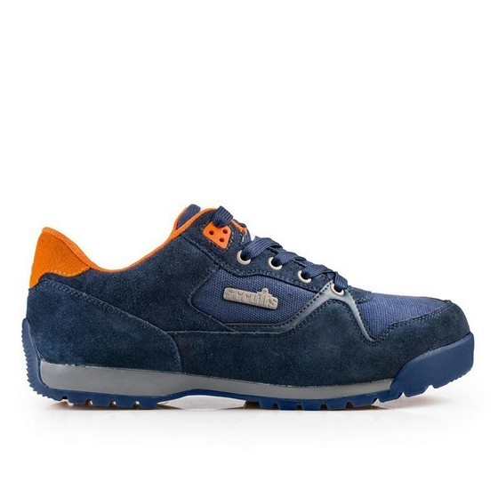 Image of SCRUFFS HALO2 SAFETY TRAINER NAVY SIZE 8