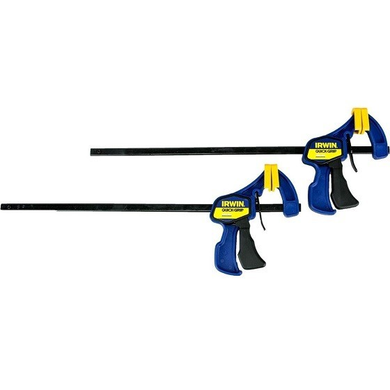 Image of Irwin Xms18mini12 12inch Mini Clamp Twin Pack