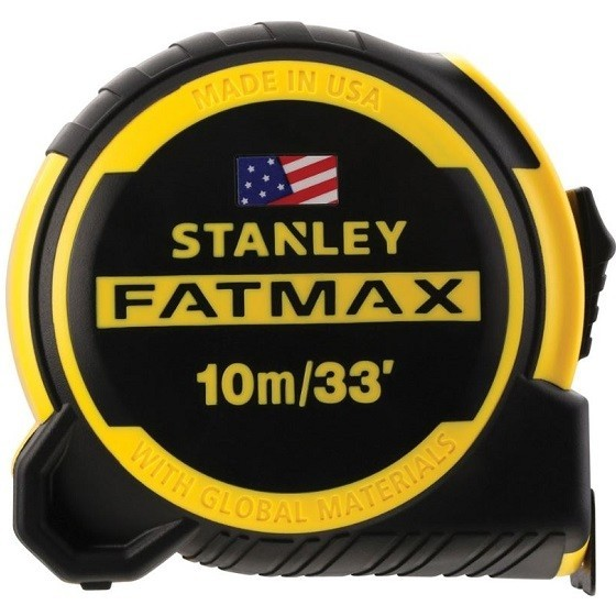 Image of STANLEY XMS18TAPE10 10M FATMAX NEXT GENERATION TAPE