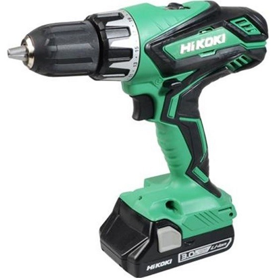 Image of HIKOKI XMS18CD2BAT 18V COMBI DRILL WITH 2X 25AH LIION BATTERIES