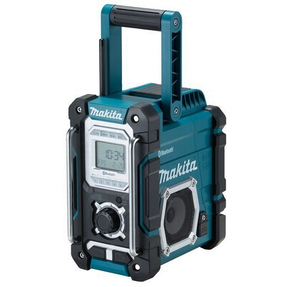 Image of MAKITA DMR108 BLUETOOTH JOB SITE RADIO 240V
