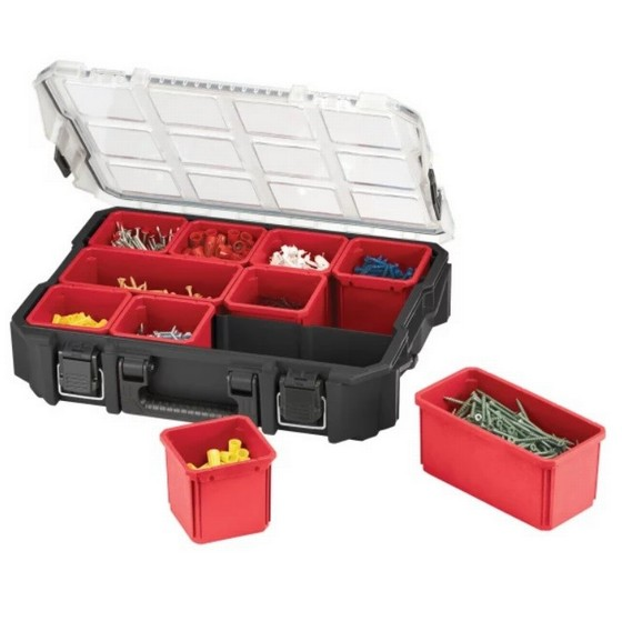 Image of KETER ROC KET17201702 10 COMPARTMENT PRO ORGANISER