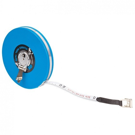 Image of Ox Trade Closed Reel Tape Measure 30m
