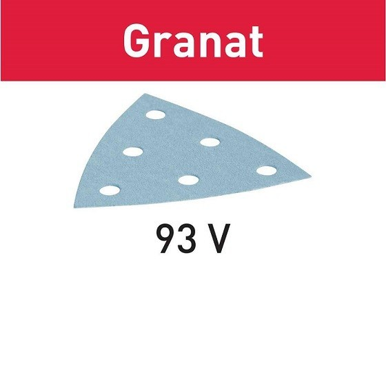 Image of FESTOOL 497392 GRANAT DELTA SANDING PADS 80 GRIT PACK OF 50
