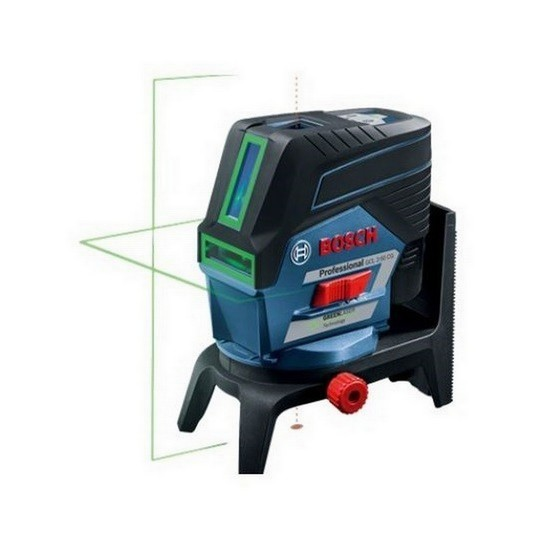 Image of BOSCH GCL250 CG COMBI GREEN LASER SET WITH 2X 20AH LIION BATTERIES