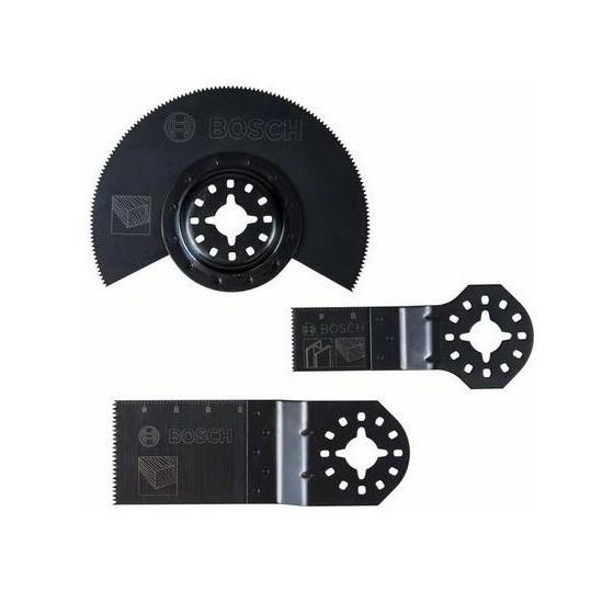 Image of Bosch 2608662343 3 Piece Basic Wood Set