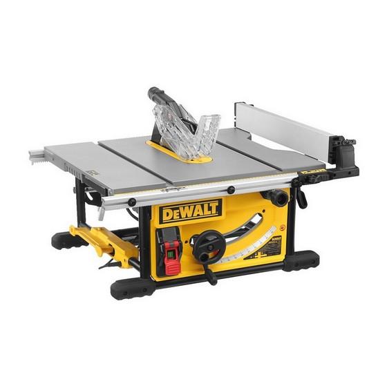 Image of DEWALT DWE7492LX 250MM TABLE SAW 110V