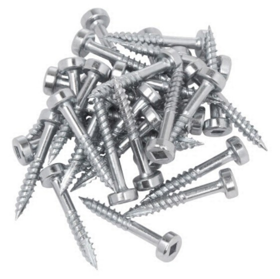 Image of TREND PH6X25500 POCKET HOLE FINE SCREWS 1 INCH BOX OF 500