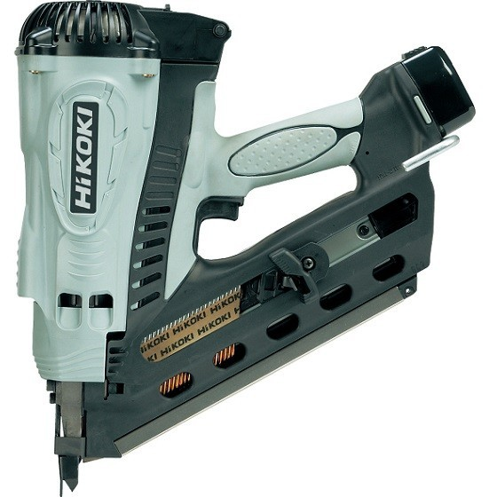 Image of Hikoki Nr90gc2 72v Gas 1st Fix Nailer With 2x 15ah Liion Batteries