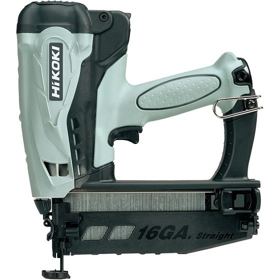 Image of Hikoki Nt65gs 36v 2nd Fix Straight Brad Nailer With 2x 15ah Liion Batteries
