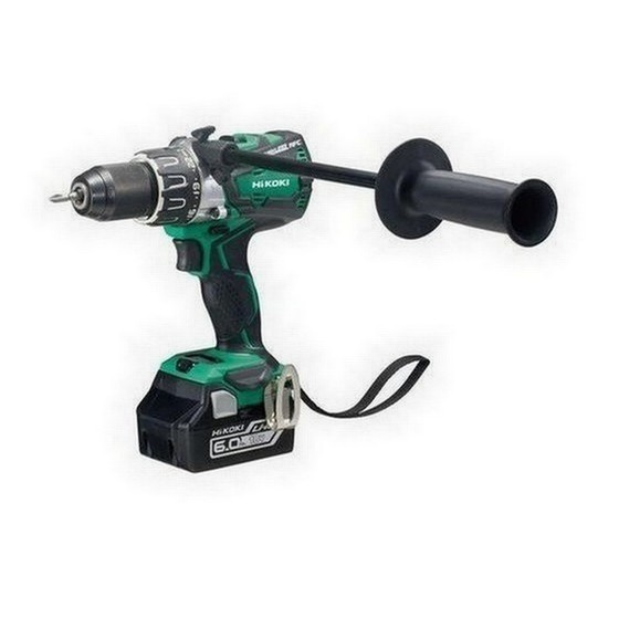Image of HIKOKI DV18DBXL2LYC 18V BRUSHLESS COMBI HAMMER DRILL WITH 2X 60AH LIION BATTERIES