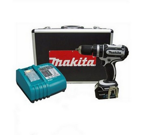 MAKITA BHP452RFWX 18V COMBI DRILL 1 x 3Ah BATTERY & CASE