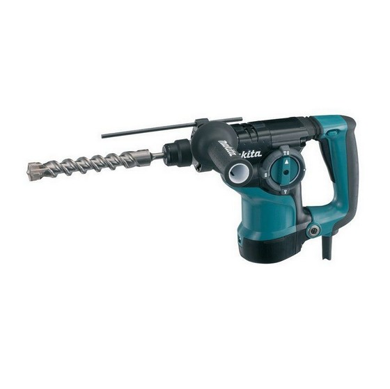 MAKITA HR2811F1 SDS+ 3 FUNCTION 3KG HAMMER DRILL 240V