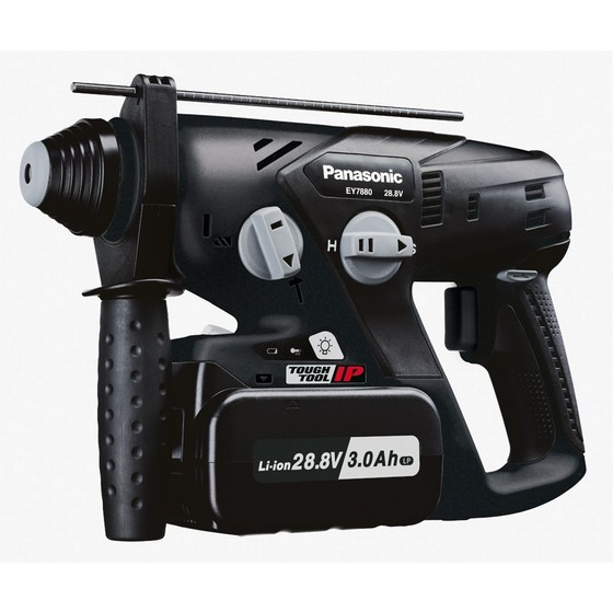 PANASONIC EY7880LZ2S 28.8V SDS ROTARY HAMMER DRILL 2 X 3.1Ah LITHIUM-ION BATTERIES