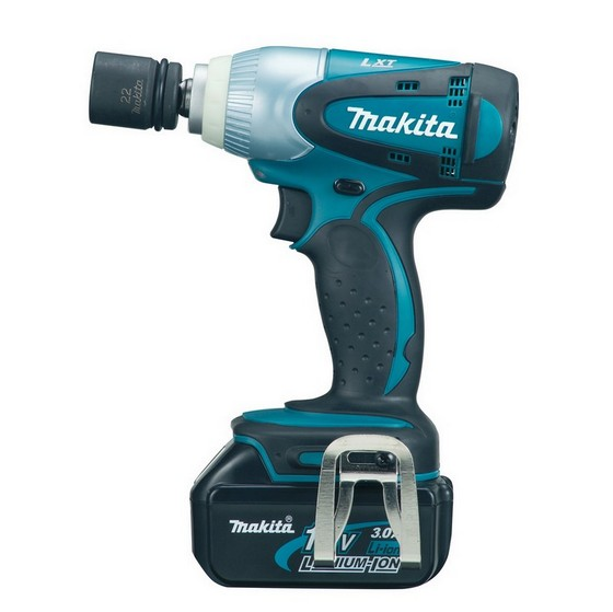 Image of Makita Dtw251rmj 12in 18v Impact Wrench With 2x 40ah Liion Batteries Supplied In A Makpac Case