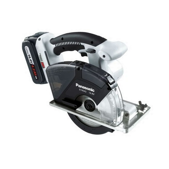 Image of Panasonic Ey4542l1m32 144v Multi Purpose Circular Saw With 1x 42ah Liion Battery