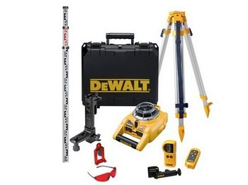 DEWALT DW075PK SELF LEVELLING ROTARY LASER LEVEL KIT