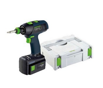 FESTOOL 564215 (12+3) 10.8V LI-ION DRILL DRIVER 2 X BATTERIES (SUPPLIED IN SYSTAINER CASE)