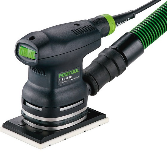 FESTOOL 567866 RTS400EQ PALM FINISH SANDER 240V SUPPLIED IN T-LOC CASE