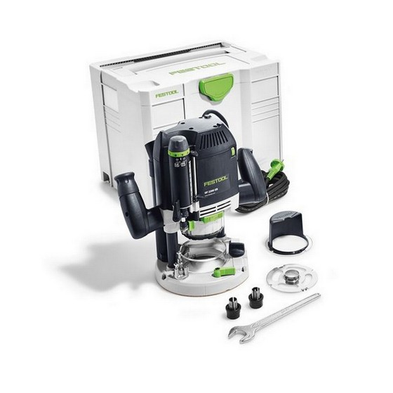 Image of FESTOOL 574352 2200W OF2200 EBPLUS 12IN ROUTER 240V SUPPLIED IN TLOC SYSTAINER CASE