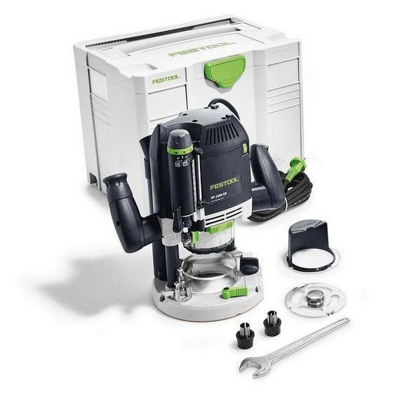 Image of FESTOOL 574353 2200W OF2200EBPLUS 12IN ROUTER 110V SUPPLIED IN TLOC SYSTAINER CASE