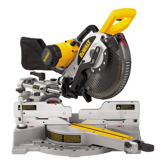 DEWALT DW717XPS 250MM DOUBLE BEVEL MITRE SAW 110V