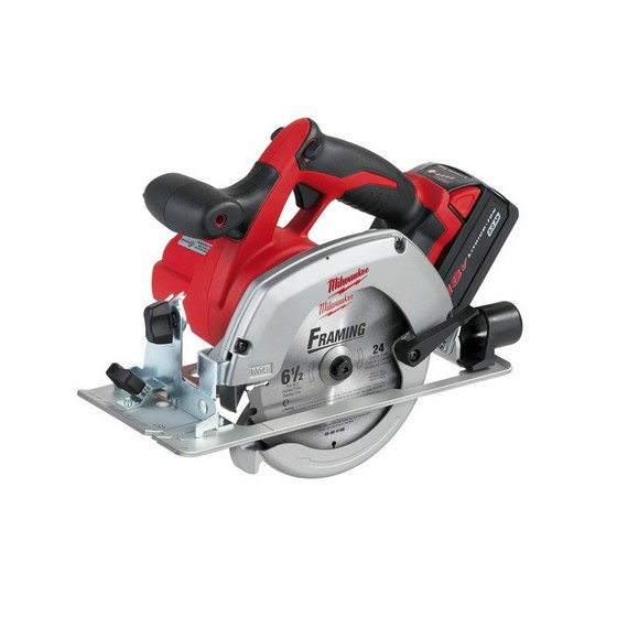 MILWAUKEE HD18CS-32 HEAVY DUTY 18V CIRCULAR SAW 2 X 3.0ah RED Li-ion BATTERIES