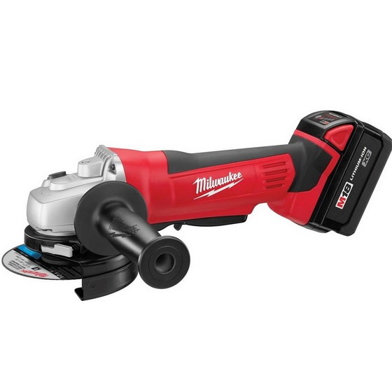 MILWAUKEE HD18AG-32 HEAVY DUTY 18V ANGLE GRINDER 2 X 3.0ah RED Li-ion BATTERIES