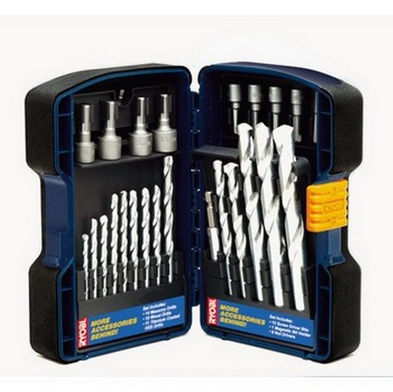Ryobi RTC-0060A 60 Piece Mixed Drilling & Screwdriving Accessory Set