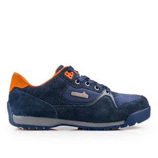 SCRUFFS HALO2 SAFETY TRAINER NAVY (SIZE 9)