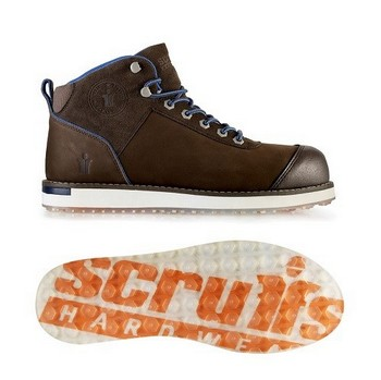 SCRUFFS NOBLE SAFETY BOOTS (SIZE 8)